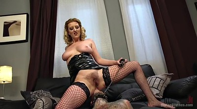 Hairy blonde, Mistress handjob, Milf fishnet, Facesiting, Cherry torn, Handjob femdom