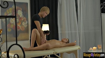 Chubby, Horny massage