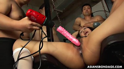Japanese bdsm, Tied orgasm, Brutal, Machines, Japanese machine, Japanese bondage