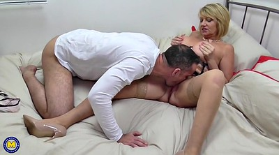 Mom and son, Mature mom, Son fuck mom, Mom fuck son, Young and old, Young mom
