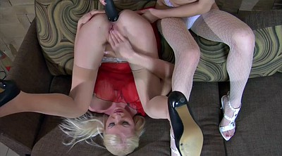 Huge anal dildo, Strapon