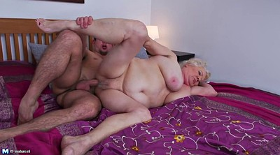 Hairy granny, Mature old
