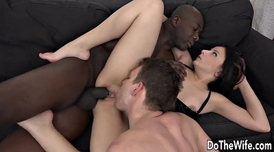 Interracial anal, Wife black
