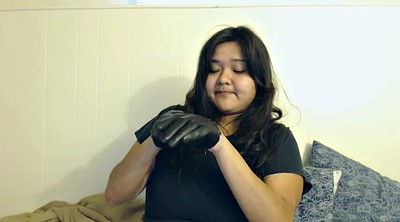 Casting, Gloves, Babe, Glove, Try on, Dee