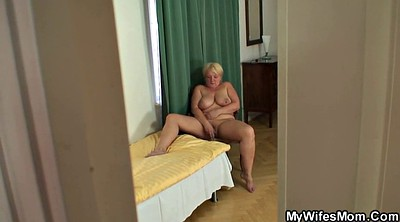 Granny, Young old, Young busty, Busty mom