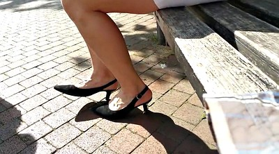 Hidden, Upskirt, Legs, Shopping