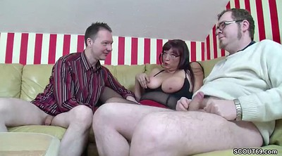 Young, Mom threesome, Teen boys, Step mom
