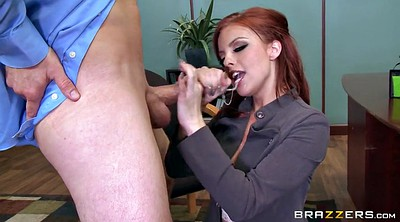 Boss, Britney amber, Office redhead