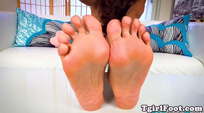 Shemale feet