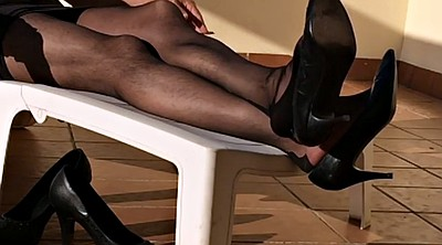 Nylon foot, Black foot