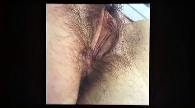 Hairy solo, Very hairy, Hairy public, Brunette solo