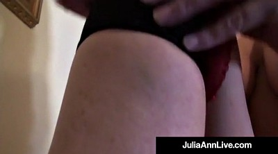 Anne, Julia, Strip, Anne milf