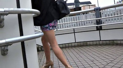 Japanese voyeur, Walk, Sexy japanese, Asian leggings