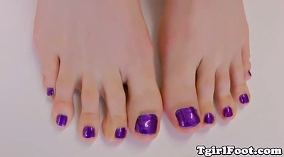 Shemale, Toes