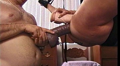 Anal huge dildo, Fisting mature