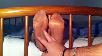 Tickle, Tickling, Feet nylon, Tickled, Tickle feet
