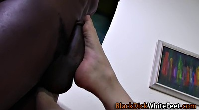 Monster cock, Teen footjob