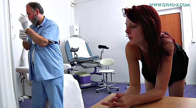 Gyno, Doctor, Old, Exam, Gyno exam, Czech anal