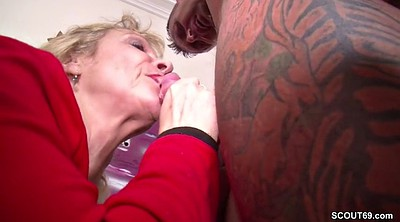 Couple, Throat, German milf