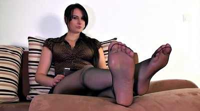 Mother, Nylons, Nylon feet, Polish