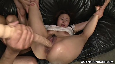 Asian bondage, Japanese bdsm, Bottle, Gaping pussy, Japanese orgasm, Japanese dildo