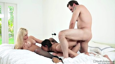 Sara, Mature threesome, Doggy