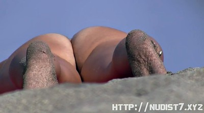 Nude, Nudist beach, Nudist, Hidden camera, Hidden cam, Beach voyeur