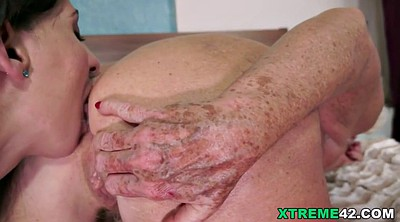 Younger, Lesbian fingering, Old lesbian, Old and young lesbian