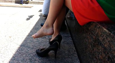 Heels, Candid, Shoe fetish