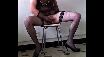 Train, Slave training, Crossdress
