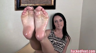 Footjob, Sabrina, Banks, Teen foot