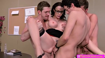 Teacher anal, Hardcore gang bang