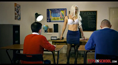 Teacher, Titty fuck, Milf teacher