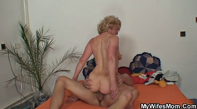Old young, Husband, Milf mom, Young mom, Old husband, Mature milf
