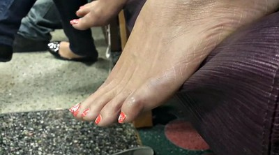 Fetish woman, Woman, Mature foot, Mature woman