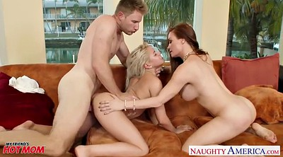 Facial, Sexy mom, Diamond, Marsha may, Diamond foxxx