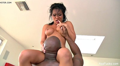 Asa akira, Asian interracial