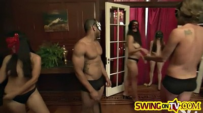 Swingers foursome, Couple