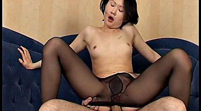 Asian pantyhose, Asian cum, Asian nylon