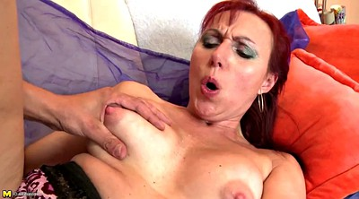 Mature blowjob, Granny boy, Granny and boy