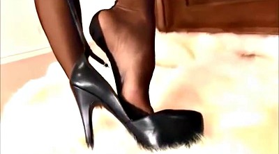 High, Black stocking, Stocking heels, High heeled, Black stockings