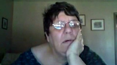 Bbw webcam, Fat granny