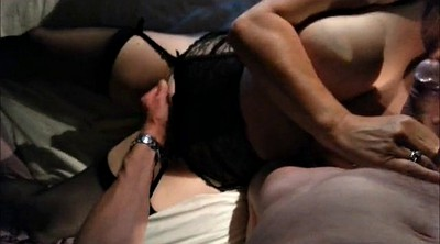 Wife orgasm, Masked