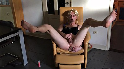 Crossdress, Young amateurs, Cum in