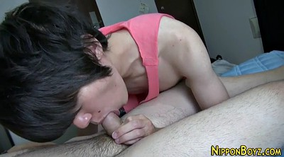 Blowjob, Big asian cumshot, Twinks