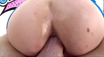 Prolapse, Hard anal, Fishnet, Summer day, Hard fuck, Prolapse anal