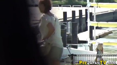 Japanese teen, Japanese public, Peeing, Urination
