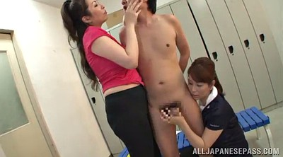 Asian mature, Hand job, Hand