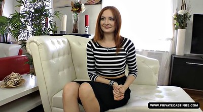 Anal casting, Redhead anal