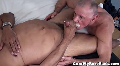 Black cock, Mature interracial